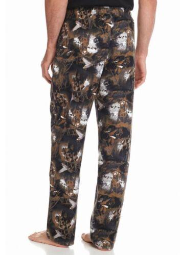Mens Lab Pants Flanella Pajama Sleep Saddlebred Labrador Black Nwt L Dog Adn6CSq