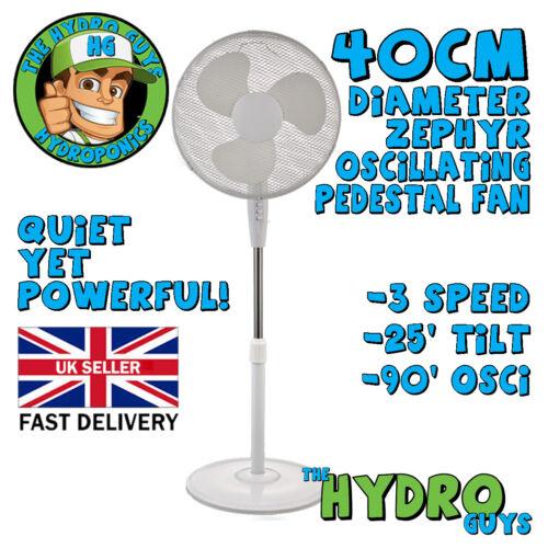 """16/"""" Ventilateur sur pied 3 vitesses Oscillant Ventilateur Heavy Base FANTASTIQUE QUALITÉ!"""