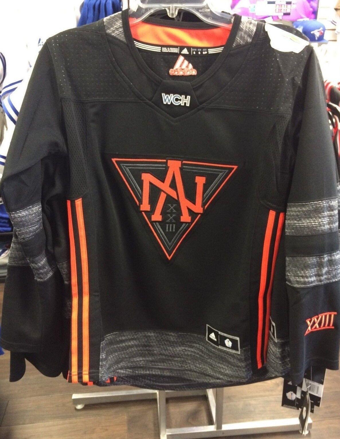 Coupe du monde de hockey sur glace Amérique du Nord 2016 Adidas Jersey Replica Medium Ladies