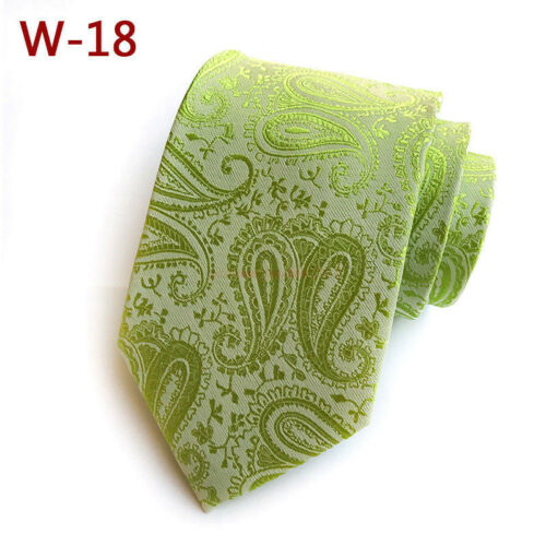 Classique Hommes Cravate 100/% Soie Cravate à motifs géométriques Tissé Jacquard Col Ties//G