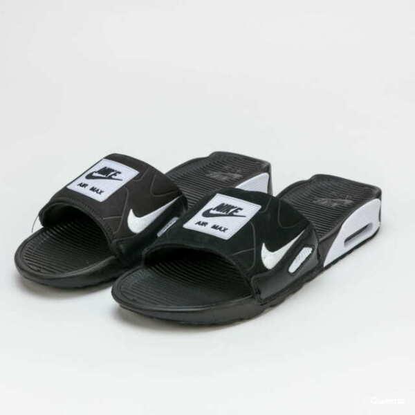Nike Air Max 90 Slides for Men, Size 11 - Black/White for sale ...