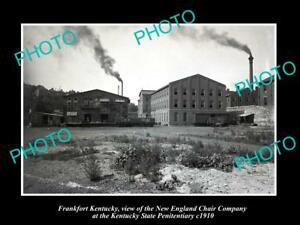 OLD-LARGE-HISTORIC-PHOTO-OF-FRANKFORT-KENTUCKY-NEW-ENGLAND-CHAIR-Co-c1910