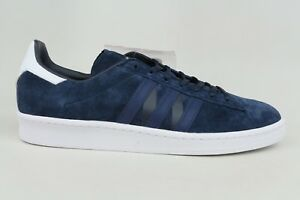 Adidas WM Campus 80s Navy Blue White Mens Size Running Sneakers BA7517 1801-38