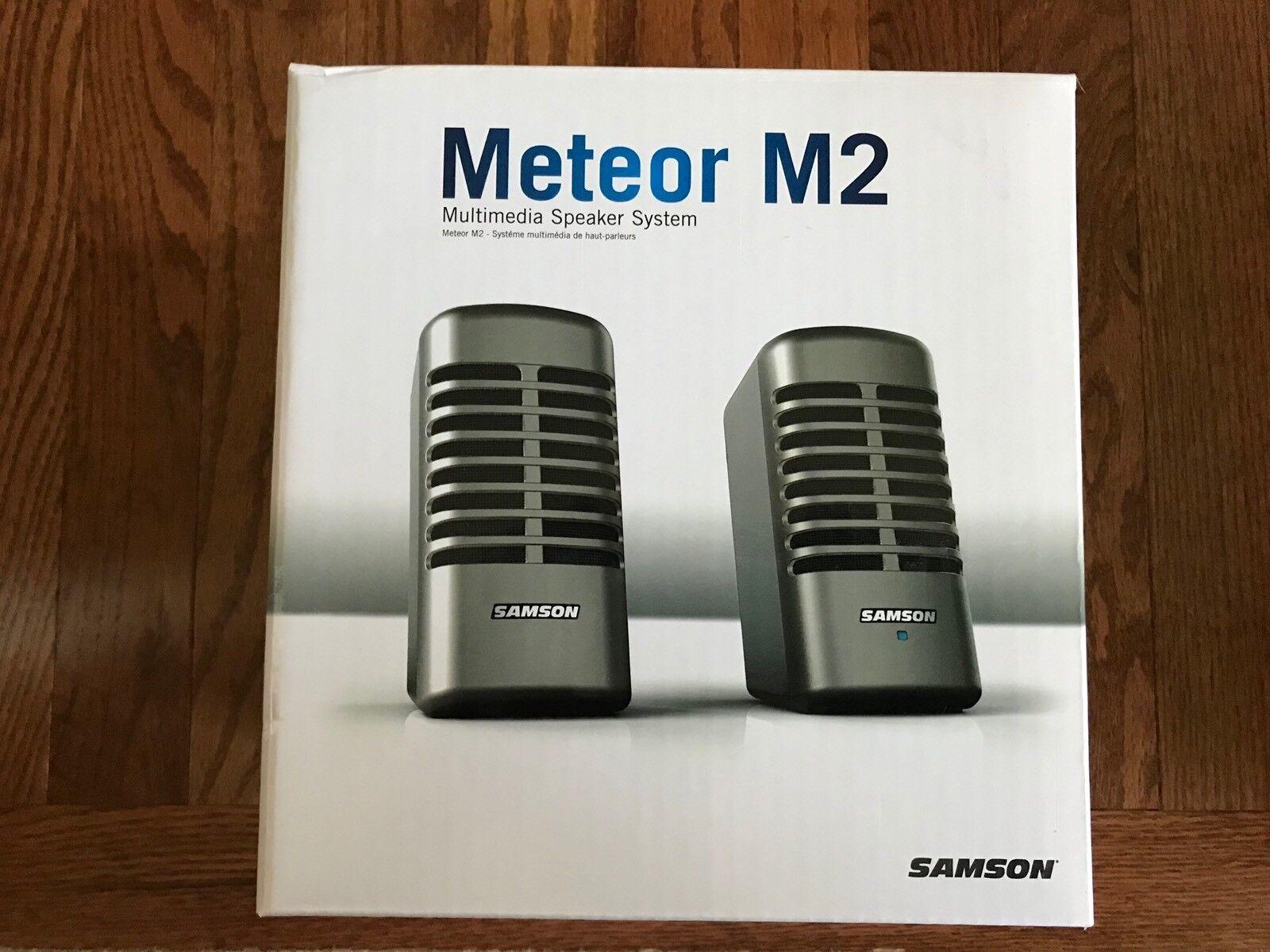 Samson Meteor M2 Multimedia Speaker System (Pair)