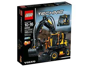 Lego-Technic-42053-VOLVO-ew160e-Neuf-Neuf-dans-sa-boite