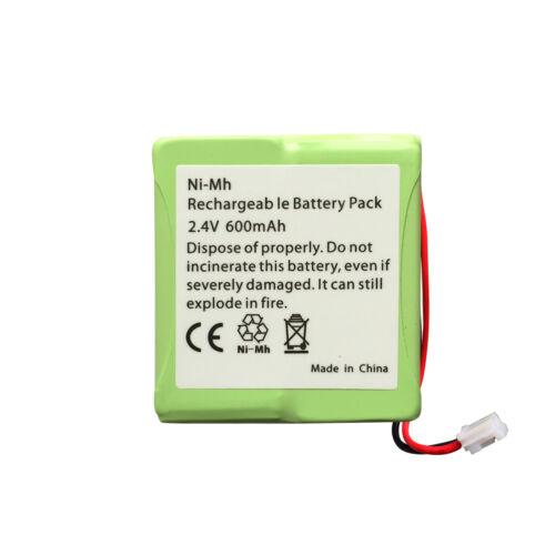 NUOVO iDECT S2i ricaricabili Cordless telefono pacco batteria NiMH 2.4v 600mah UK NI-MH
