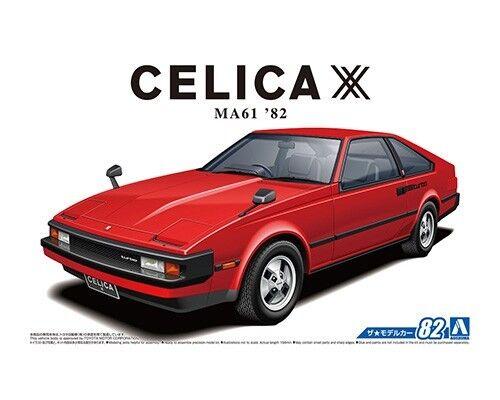 Aoshima 1 24 Toyota MA61 Celica XX 2800GT '82
