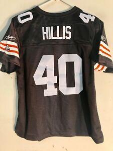 9ee98c2c Details about Reebok Women's Premier NFL Jersey Cleveland Browns Peyton  Hillis Brown sz L