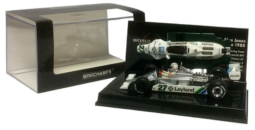 Minichamps williams FW07B 1980-alan jones F1. champion du monde échelle 1 43