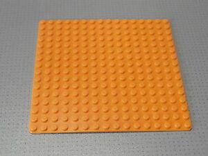 PIASTRA di base LEGO costruzione Board 8 x 16 BORCHIE Tan-ORIGINALE 92438