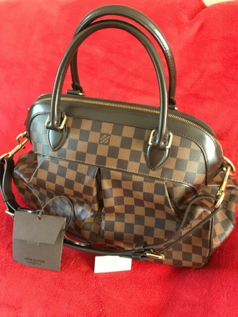 9e3879e52179 Authentic Louis Vuitton TREVI GM Shoulder Bag Handbag Damier Canvas ...