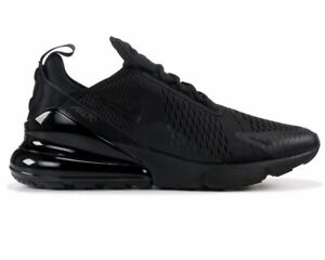 068d7c3fb002 Nike Air Max 270 AH8050 005 Mens Trainers Triple Black Gym Running ...