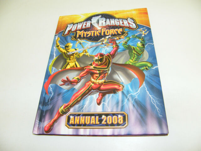 POWER RANGERS MYSTIC FORCE BUCH DIN A4 MIT FOTOS ZUR SERIE HARDCOVER 2008