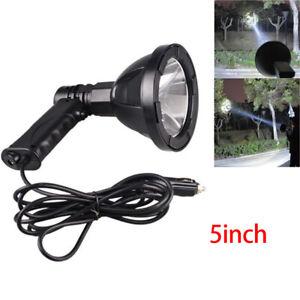 5inch Hand Held HID Spotlight 35W Hunting 12V Lamp Offroad Camping Spot Li.H2