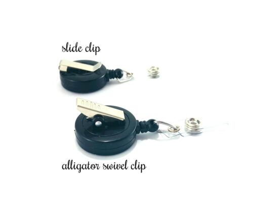 Brush /& Floss Badge Reel Holder Clip Tooth Dental Gift ID Charm Accessory