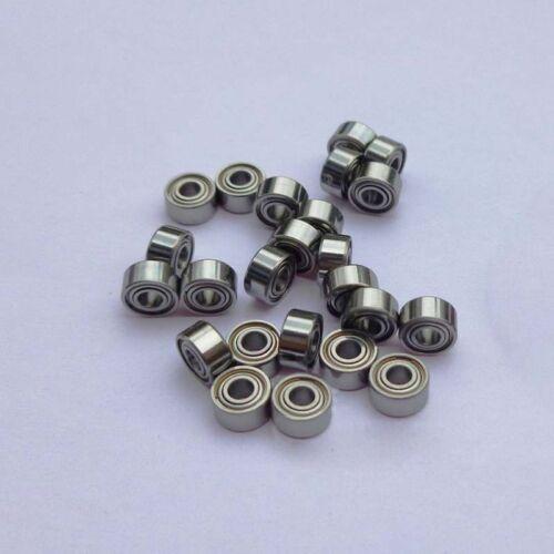 10pcs MR52zz MR52 2x5x2.5mm 2*5*2.5 Metal Shielded Ball Bearing Spare Bearings