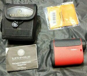 Leupold PinCaddie 2 Golf Digital Laser Range Finder w/ Pinhunter Technology
