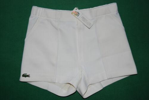 Deadstock Rare Tennis Vainqueur Vilas Vintage Shorts Chemise 1981 Lacoste xYggIa
