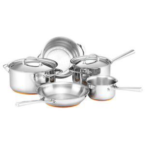 5pc Essteele Per Vita Stainless Steel Saucepan/Frypa