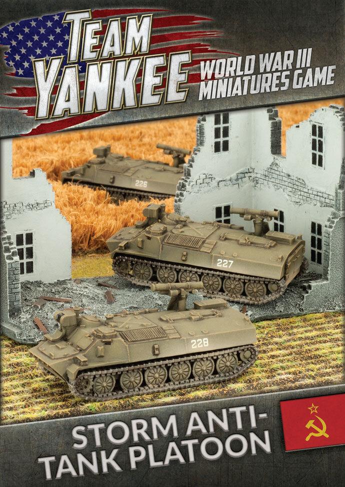 Team Yankee - Soviets  Storm Anti-Tank Platoon TSBX15