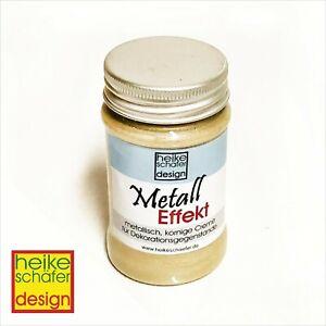 Metall-Effekt-Creme-in-Gold-90ml-Neu-Heike-Schaefer-Design