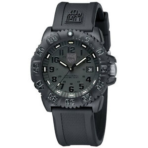EMS-Free-NEW-Luminox-Colormark-Navy-Seals-3051-BO-Blackout-Sports-Divers-Watch