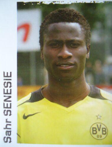 PANINI 133 BL CALCIO 2004//05 Sahr senesie Borussia Dortmund