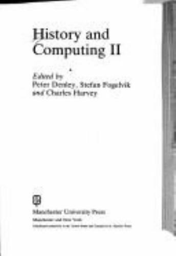 History and Computing by Denley, Peter