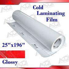 3mil Glossy Uv Luster Cold Laminating Film Laminating Rolls 19625in 06325m