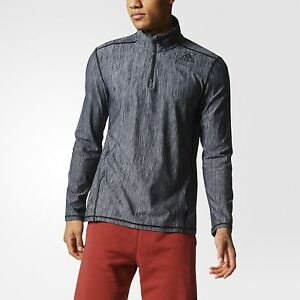adidas Vertical Heathered Track Jacket Men's Grey