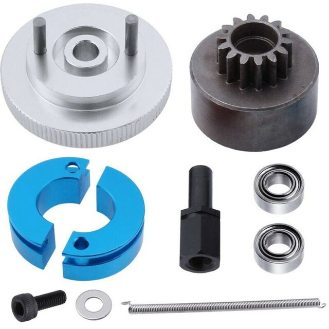 RC 14T Clutch Bell + Shoes with Sp +Flywheel Assembly Kit Set for Redcat Vo N4Q4