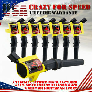 Quality Ignition Coil 8PCS for Ford Lincoln Mercury 4.6//5.4//6.8L 3W7Z-12029-AA