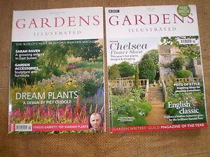 2 Quality British Garden Magazines Gardens Illustrated July 2004