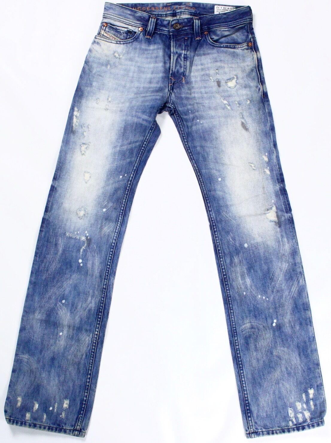 DIESEL Nuovo di Zecca Safado Safado Safado 0886P Jeans 28X32 886P SLIM-FIT Dritto de656d
