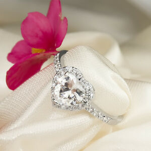2-0-CT-VVS1-Engagement-Promise-RING-Heart-Halo-White-Gold-Plated-SIZE-5-9-Paula