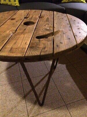 Fyrretræs sofabord fra IKEA klar til sæbebehandling