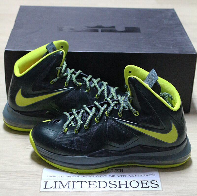 NIKE LEBRON X 10 DUNKMAN SEAWEED GREEN 541100-300 cork bhm mvp denim christmas Seasonal price cuts, discount benefits