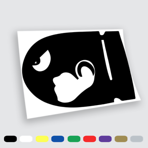 Car Wall Vinyl stickers wall stickers prespaziati Super Mario Bros.