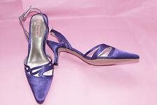 Jacques Vert Viola Purple Sling Back Shoes New without Box  UK 5 EU 38