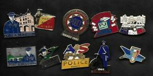 LOT-PINS-POLICE-MEURTHE-ET-MOSELLE