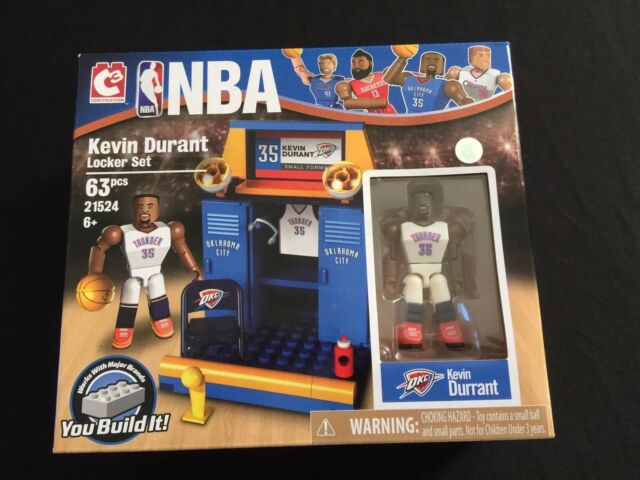 Kevin Durant - The Bridge Direct NBA Locker Room Set: Kevin Durant