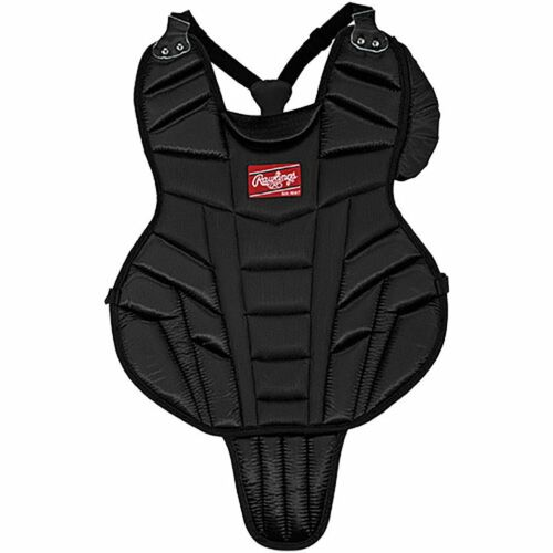 """NEW Rawlings Junior 14/"""" Catcher/'s Chest Protector Black LLBP2"""