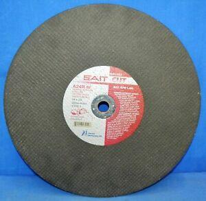 Case of 10 United Abrasives SAIT A24R 14x1//8x20mm Portable Saw Cut-Off Wheels