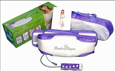 Loss Weight Slender Shape Slimming Massager Belt Fat Burning Massage Slim Sauna