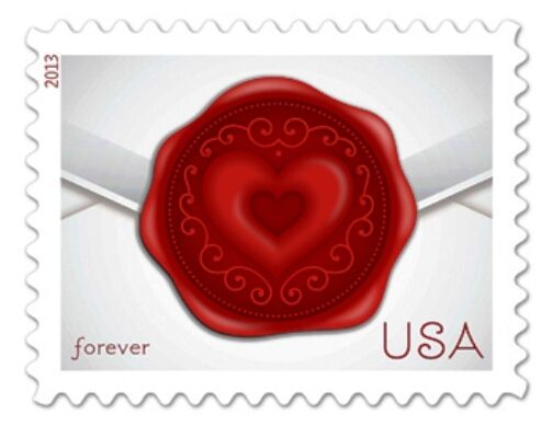 2013 46c Sealed with Love Scott 4741 Mint F/VF NH