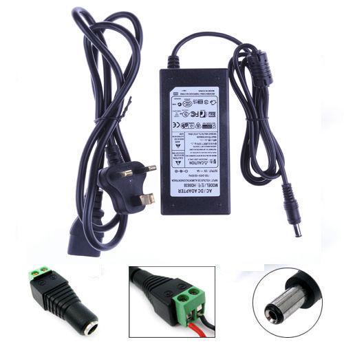5//10//15M 5050 SMD RGB LED Strip Light 44 Keys Remote Power Supply Kit Waterproof