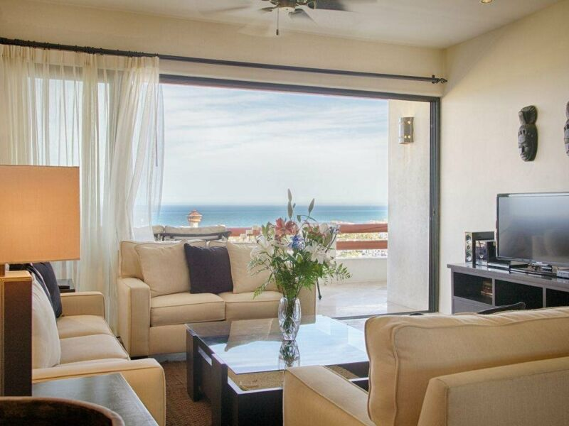 Departamento de 2 Recamaras en Renta con Vista al Mar en  San Jose del Cabo, BCS