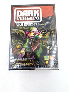 Dark Venture Vile Invaders Card Game Expansion( require Dark Venture Core Game)