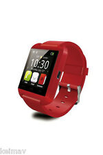 Bluetooth Touchscreen Smart Watch (Red)