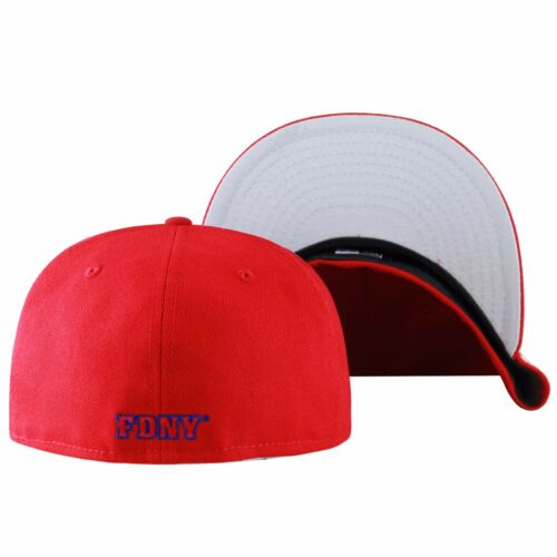 """New Era /""""FDNY/"""" Fire Department City Of New York Fitted Hat RED"""